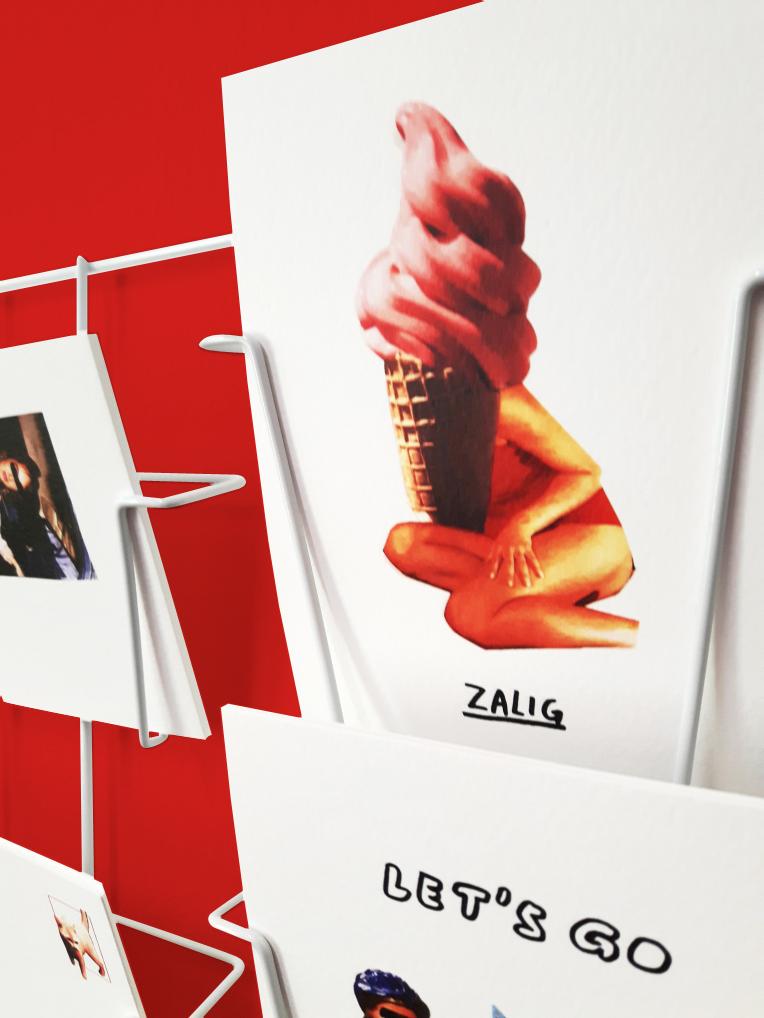 Club Studio: fotocollage ansichtkaarten